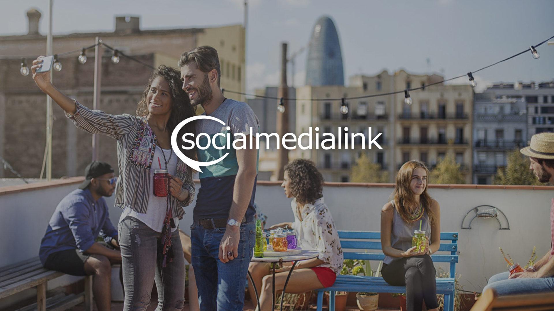 Social Media Link Website Design and Development