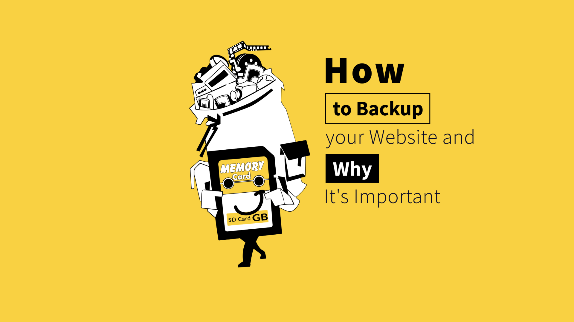 How to Backup your Website and Why It's Important