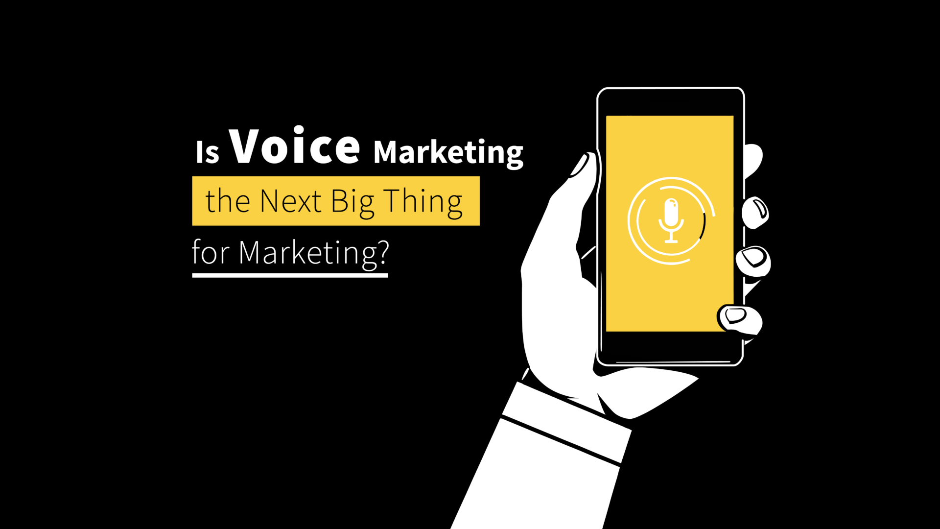 Is Voice Search the Next Big Thing for Digital Marketing?