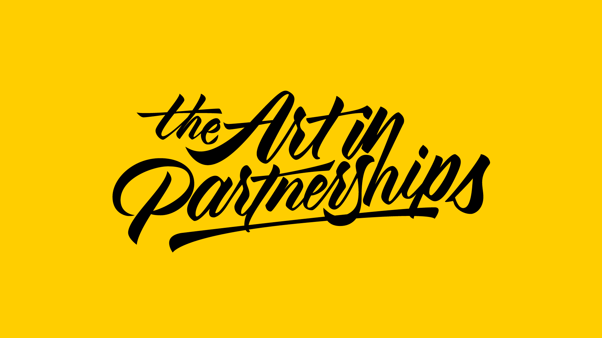 The 'art' in pARTnerships