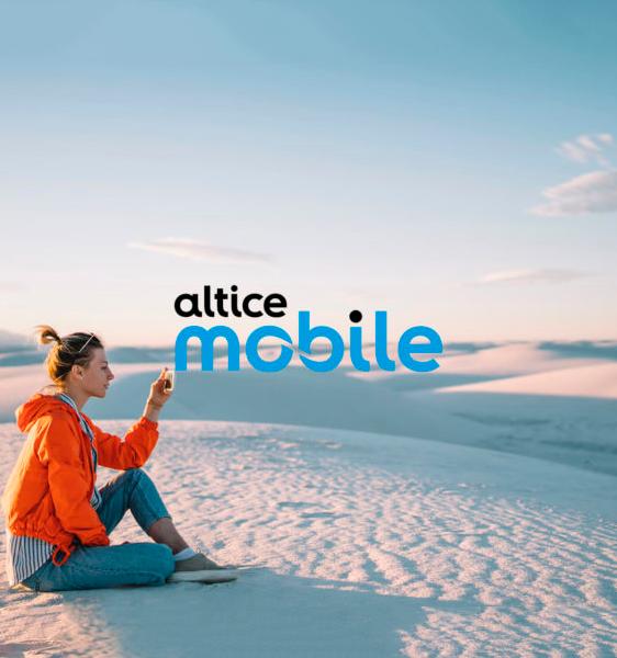 Altice Mobile Website Design and Development