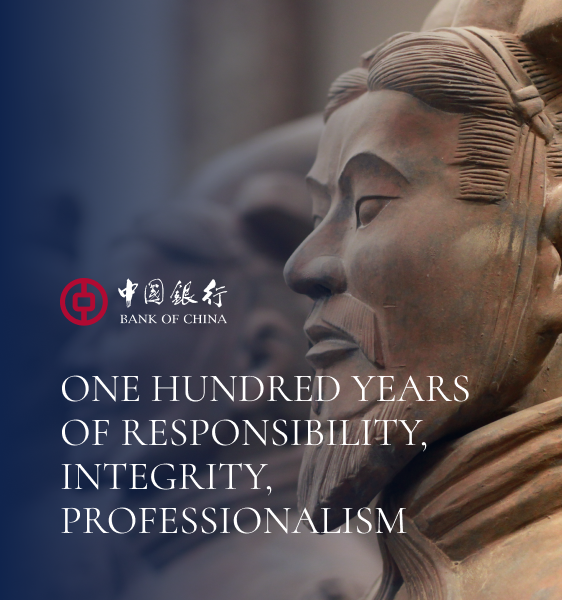 Bank of China Website Design and Development